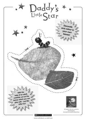 leaf-activity-sheet-daddys-little-star