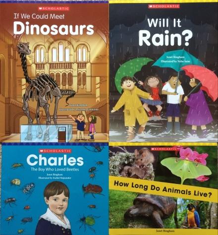 scholastic everyday book box janet bingham