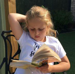 the never-ending birthday reading