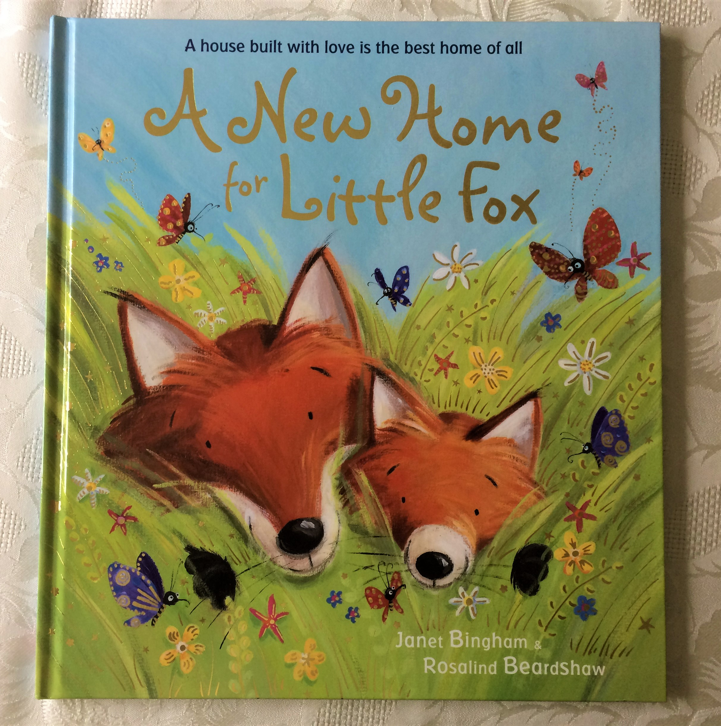 New Home for Little Fox Cover
